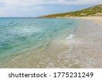 Bodri Beach In Corsica  France