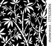 vector black and white bamboo... | Shutterstock .eps vector #1775232806
