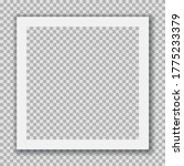 instant photo frame. classic... | Shutterstock .eps vector #1775233379