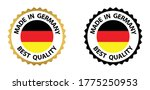 made in germany vector stamp....   Shutterstock .eps vector #1775250953