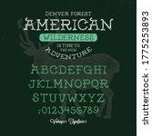 """american wilderness"". original ... | Shutterstock .eps vector #1775253893"