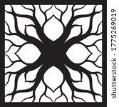 lattice screen lasercut grille... | Shutterstock .eps vector #1775269019