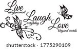 Live Every Moment Laugh...