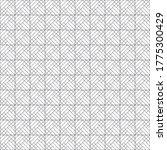 vector seamless pattern.... | Shutterstock .eps vector #1775300429