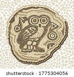 vector seamless mosaic...   Shutterstock .eps vector #1775304056