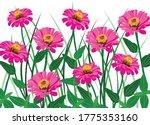 Beautiful Pink Zinnia Flower...