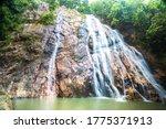 Namuang Waterfall On Koh Samui...
