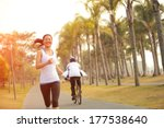 healthy lifestyle young asian...   Shutterstock . vector #177538640