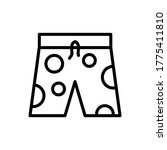 clothes  swimming trunks icon....