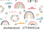 seamless vector pattern with...   Shutterstock .eps vector #1775445116