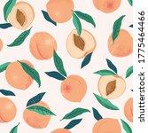 Peach Or Apricot Seamless...