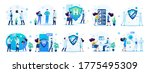 sets of medical concepts for... | Shutterstock .eps vector #1775495309