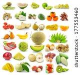 fruit isolated on white...   Shutterstock . vector #177553460