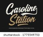 """gasoline station"". original...   Shutterstock .eps vector #1775549753"