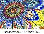 Colorful Stained Glass Ceiling...