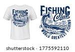 Fishing T Shirt Print Mockup ...