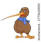 kiwi bird mascot cartoon in...   Shutterstock .eps vector #1775610053