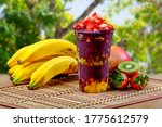 Summer Acai Smoothie With...