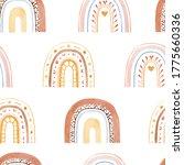 watercolor childish seamless... | Shutterstock . vector #1775660336