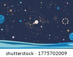 horizontal illustration with...   Shutterstock .eps vector #1775702009