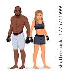 vector mixed martial arts man...   Shutterstock .eps vector #1775711999