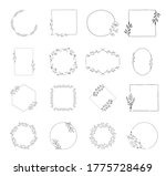 collection of hand drawn... | Shutterstock .eps vector #1775728469