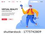 virtual reality flat landing...