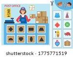 educational worksheet for... | Shutterstock .eps vector #1775771519