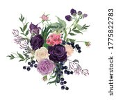colorful floral collection with ...   Shutterstock . vector #1775822783