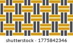 metal lattice seamless vector... | Shutterstock .eps vector #1775842346