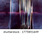 Color Glitch Background....