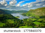 Summer On Ullswater In The...