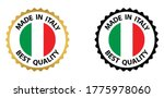 made in italy vector stamp.... | Shutterstock .eps vector #1775978060