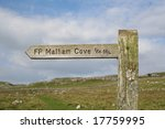 Walkers Signpost To Malham Cov...
