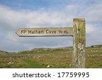 Walkers Signpost To Malham Cov...
