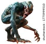 Swamp Horror Monster 3d...