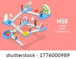 3d isometric flat vector... | Shutterstock .eps vector #1776000989