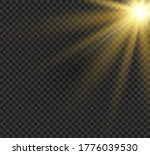 bright glowing light explodes... | Shutterstock .eps vector #1776039530