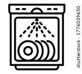 Working Dishwasher Icon....