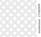 vector pattern   geometric... | Shutterstock .eps vector #177605999