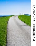 alpine road  | Shutterstock . vector #177606434