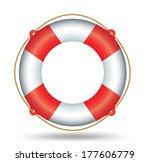 life ring | Shutterstock .eps vector #177606779