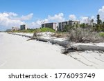 Beach Erosion At The Surf\'s...