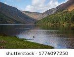 Glendalough Upper Lake  Hills...
