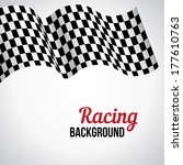 background with black and white ... | Shutterstock .eps vector #177610763