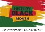black history month. african... | Shutterstock .eps vector #1776188750