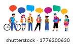 back to school background ...   Shutterstock .eps vector #1776200630