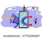 attracting online customers... | Shutterstock .eps vector #1776200669
