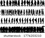 group of people. crowd of... | Shutterstock . vector #1776203210