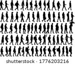 group of people. crowd of... | Shutterstock . vector #1776203216